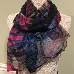 Cynthia Rowley Large Rectangular Silk Scarf, BNWOT